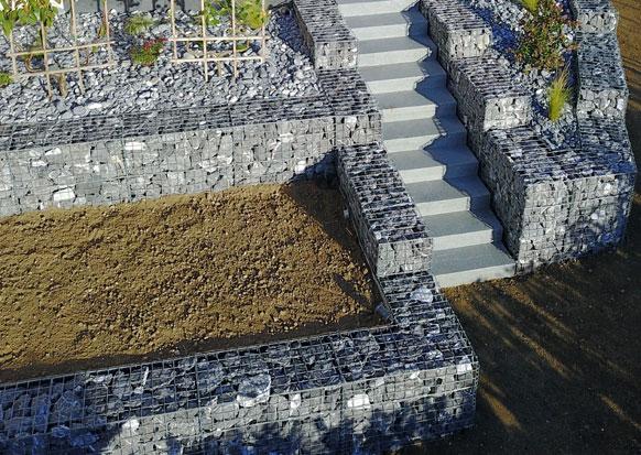 LE GABION escaliers