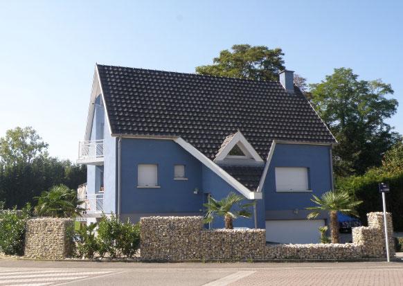 LE GABION maison aménagements en gabion